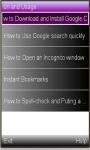 Google Chrome latest version screenshot 1/1