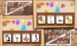 spot out odd one image puzzle Game screenshot 2/4