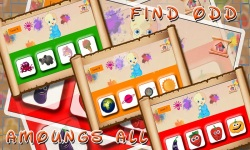 spot out odd one image puzzle Game screenshot 4/4