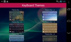 Android Keyboard Themes screenshot 2/3