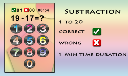 Kids Math Sum Sub Mul Div screenshot 3/6