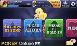 Texas HoldEm Poker Deluxe ES screenshot 1/5