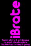 iBrate Vibrate screenshot 1/2