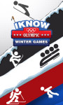 I Know: Winter Olympic Games screenshot 1/6