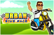 Urban Bike Race screenshot 1/6