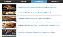 Banana Bread Recipe App screenshot 3/3