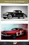 Classic Car Full HD Wallpaper screenshot 3/6