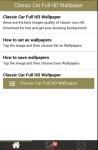 Classic Car Full HD Wallpaper screenshot 6/6