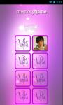 Violetta Memory Game screenshot 3/6