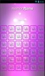Violetta Memory Game screenshot 5/6