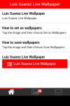 Luis Suarez Live Wallpaper screenshot 2/5