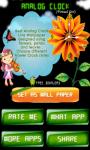 Analog clock -virtual girl screenshot 2/4