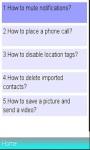 Facebook Messenger /FAQs screenshot 1/1