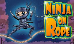 NINJA ON ROPE screenshot 1/1