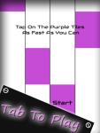 Piano Tile Purple screenshot 2/4