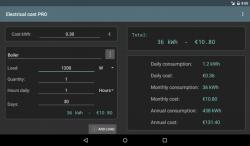 Spesa elettrica PROKey smart screenshot 5/5