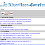 Hermann Advertiser Courier for Android screenshot 1/1