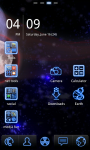 Neon Blue Theme screenshot 3/3