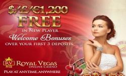 Royal Vegas Casino screenshot 1/5