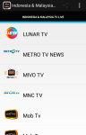 Indonesia and Malaysia Tv Live screenshot 2/5