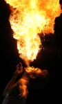 Fire Man Lwp screenshot 1/3