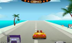 Crazy Kiss Racer free screenshot 4/6