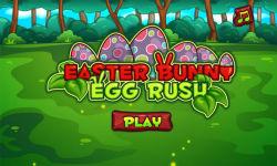 Easter Bunny Egg Rush screenshot 1/3