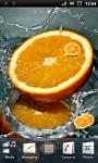 Fresh Orange Live Wallpaper screenshot 1/3