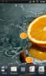 Fresh Orange Live Wallpaper screenshot 2/3