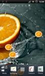 Fresh Orange Live Wallpaper screenshot 3/3