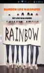 Rainbow South Korean Girl Band Live Wallpaper Best screenshot 1/4
