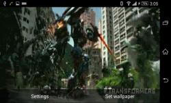 Transformers movie Live Wallpaper screenshot 1/6