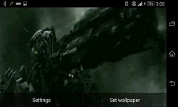 Transformers movie Live Wallpaper screenshot 6/6