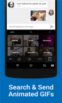 Kika Emoji Keyboard - GIF Free screenshot 1/6