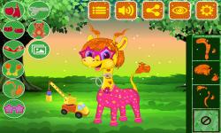Baby Giraffe Salon screenshot 5/5