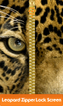 Leopard Zipper Lock Screen screenshot 1/6