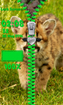 Leopard Zipper Lock Screen screenshot 5/6