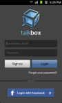 TalkBox Voice Messenger screenshot 1/6