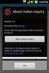Indian Inquiry screenshot 6/6