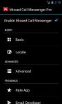Missed Call Messenger Lite screenshot 3/6