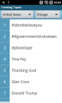 What The Trending Topics screenshot 1/6
