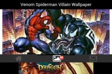 Venom Spiderman Villain Wallpaper screenshot 1/6