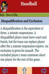 Rules to play Handball screenshot 3/3