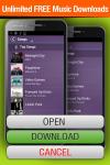 Free Music Downloads Lite screenshot 1/2