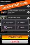 Free Music Downloads Lite screenshot 2/2