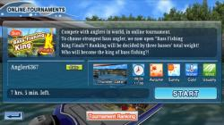 Bass Fishing 3D on the Boat active screenshot 3/6