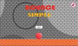 bounce simple screenshot 1/4
