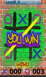 Tic Tac Toe Graffiti screenshot 1/4