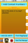 iTxt Gold, free texting on iPod Touch/iPhone - txt via email  - Now with photo texting screenshot 1/1