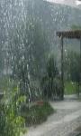 Beautifull Rain Fall From Above Wallpaper screenshot 2/3